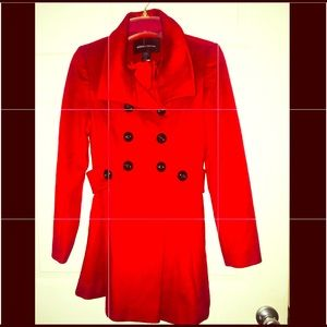 MODA International Red Women Peacoat Long Dress.